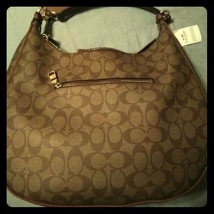 Coach Signature Canvas Authentic Shoulder Tote